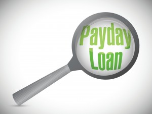 look into a payday loan