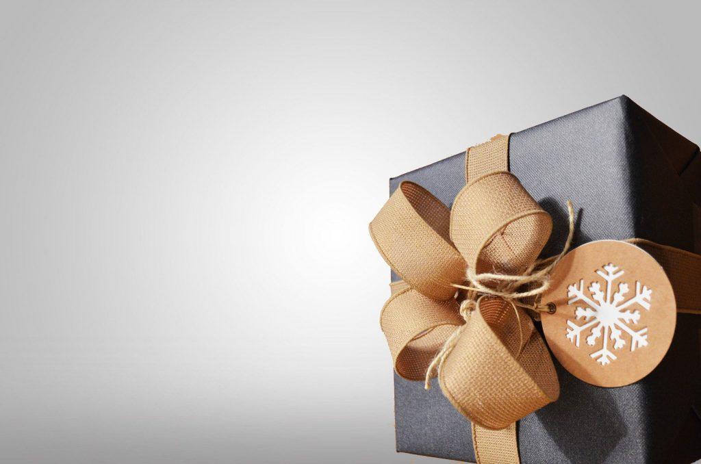 Black Present Gift Box