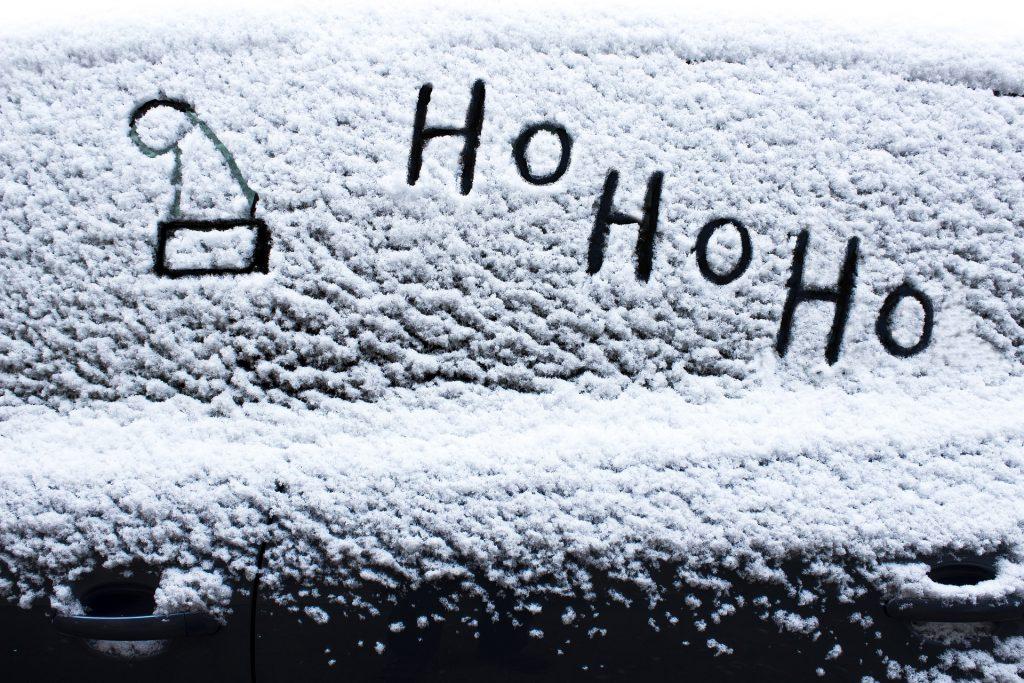 Santa Hat Snow Frost