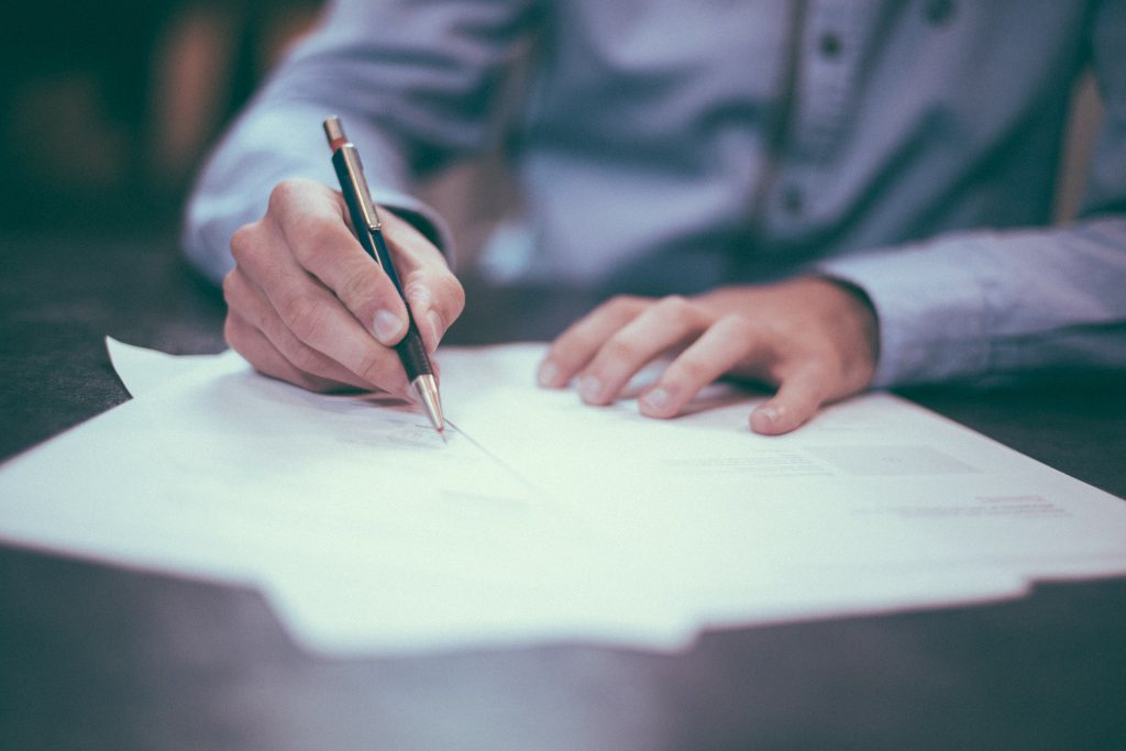 Writing Pen & Paper